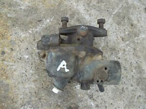 Farmall A B C Tractor Original Ihc Good Working Zenith Carburetor Assembly