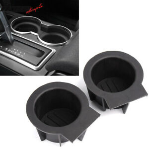 For Ford F 150 Expedition Navigator Front Console Cup Holder Inserts 2 Pieces