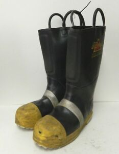 Thorogood Hellfire Steel Toe Firefighter Safety Fire Boots Size 9 5 Medium