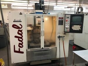 Used Fadal Vmc 15 Cnc Vertical Mill 1996 20 16 20 7500 Rpm Rigid Tap Clean