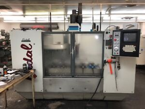 Used Fadal Vmc 5020aht Cnc Vertical Mill 1998 88hs 50 20 20 7500 Rpm 30 Tools
