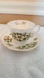 Queen S Rosina English China Cup And Saucer Victoria B C