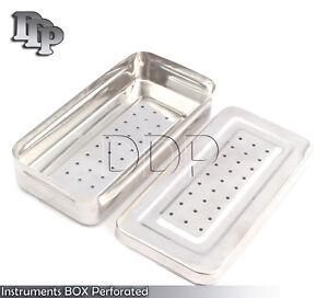 Instruments Box Perforated Stainless Steel 25x12x5 Cm Surgical Instruments