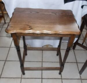 Solid Oak Lamp Table Entry Table Bm T729