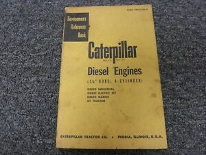 Caterpillar Cat D8800 5 3 4 Bor 4 Cyl Diesel Engine Shop Service Repair Manual
