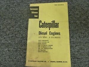 Caterpillar Cat D318 4 1 2 Bore 6 Cyl Diesel Engine Shop Service Repair Manual