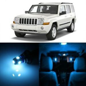 13 X Ice Blue Led Interior Lights Package For Jeep Commander 2006 2010 Tool