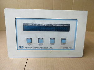 Power Measurements Ltd 3700acm Vintage Electronic Test Equipment