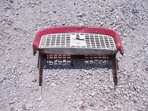 Farmall Ih 240 Tractor Front Nose Cone Top Grill Mounting Holder Bracket