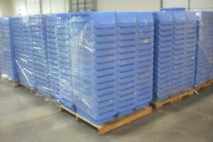 75 Plastic Storage Warehousing Bins 24 X 16 X 12 blue