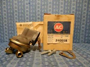1958 1966 Chevrolet Big Block Nors Ac Fuel Pump 59 60 61 62 64 65 40018 See Ad
