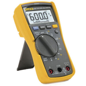Fluke 117 Digital Multimeter For Electricians Non Contact Voltage 2583647