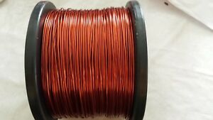 Magnet Wire 15 Awg Heavy Gp 9 Lbs Red