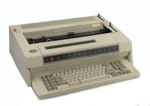Ibm Wheelwriter Typewriter With Memory And Spelling Correction