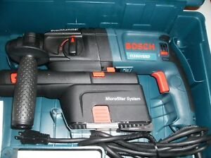 Bosch 11250vsrd 3 4 Sds plus Rotary Hammer With Dust Collection Microfilter New