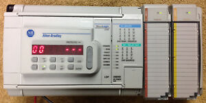 Allen bradley Micrologix 1500 Plc With Analog I o Outstanding Condition