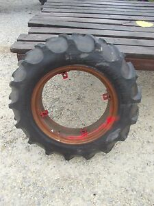 Farmall A Sa B Bn Tractor 11 2 X 24 55 Tread Tire Ih Buckle Mount Rim