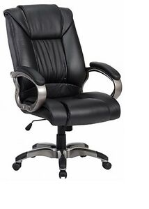 Harwick Black Leather Big Tall Chair model 8229 New Lower Price