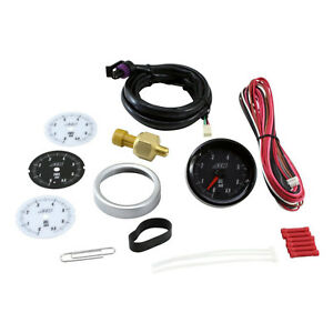 Aem 30 5133m Analog 6 9bar Oil fuel Pressure Gauge metric