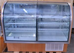 59 60 Spartan Showcase 93048 59rn Refrigerated Deli Bakery Display Case Cooler
