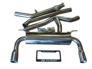 Bmw F30 335i Coupe Sedan 12 16 Performance Exhaust System 76mm Piping 89mm Tips