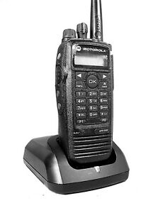 Mint Motorola Xpr6500 Uhf Mototrbo Portable Radio W accessories