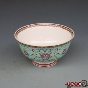 Chinese Old Porcelain Blue And White Coloured Drawing Or Pattern Porcelain Bowl