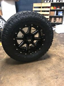 Chevy Gmc 2500 3500 8x6 5 Wheel Tire Package 18 Fuel Maverick D610 33 Toyo At