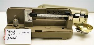 #6532 Ohaus 1010 reloading powder scale