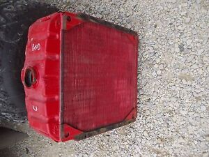 Farmall C Tractor Original Ih Ihc Engine Motor Radiator Assembly Ready To Use