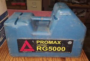 Amprobe Promax Rg5000 Refrigerant Recovery Machine Hvac Used Works Great