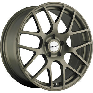18x9 5 Bronze Wheel Tsw Nurburgring 5x120 40