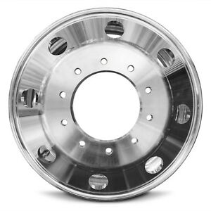 Dually Drw Aluminum Wheel Rim 19 5 Inch Inside Mounted 05 18 Ford F450sd F550sd