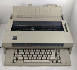 Vinge Ibm Wheelwriter 3 Typewriter Electric Beige Office Working Bundle Ribbon