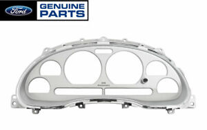 1999 2004 Mustang Genuine Ford 35th Anniversary Silver Gauge Cluster Bezel Nos