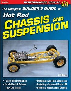 The Complete Builder S Guide To Hot Rod Chassis Suspension Book Brand New Asc
