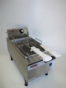 Apw Wyott Ef 15n Countertop 15 Lbs Electric Fryer