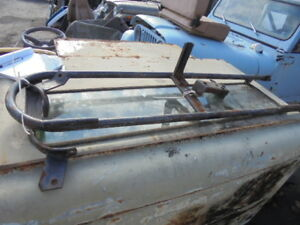 Jeep Early Cj5 Renegade Spare Tire Carrier With Brackets Dual Jerry Can Holders