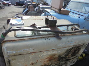 Jeep Early Cj5 Renegade Spare Tire Carrier With Brackets
