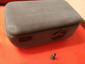 Oem 93 97 Ford Ranger Mazda B4000 Armrest Center Console Storage Box Gray 1 Bolt