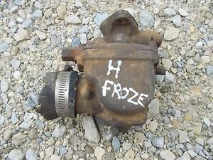 Farmall Ih H Hv Tractor Original Carburetor Assembly Carb