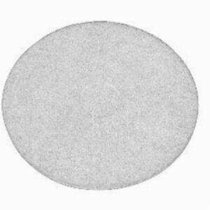 White Floor Pads 17 Floor Buffer Polisher Polish Pads 1 Thick 5 Pack