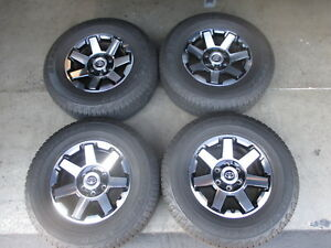 2018 Toyota 4runner Trd Factory 17 Wheels Tires Rims 75154 Black Tacoma Tundra