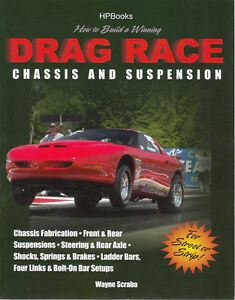 How To Build A Winning Drag Race Chassis And Suspension Book New