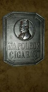Napoleon Co Nickel Plated Bronze Sign