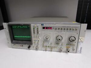 Agilent Hp 8569a Spectrum Analyzer 22ghz Opt 001