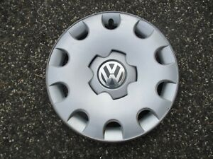 One Genuine 2003 To 2007 Volkswagen Vw Golf15 Inch Hubcap Wheel Cover