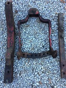 Original Ih Farmall C Super 200 230 Tractor Swing Hitch With Draw Bar used Part