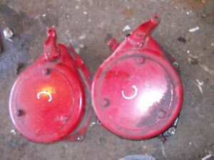Farmall C Tractor Ih Pair Brake Bands Drives Covers Band Drive Cover Bracket