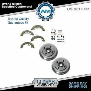 Rear Brake Drum Shoe Hardware Kit For 00 08 Ford Focus